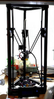 Repetier firmware for a AnyCubic Kossel 3D printer (Small and Large